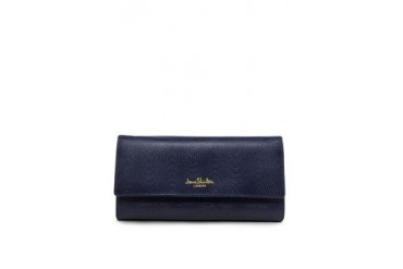 Jane Leather Three Fold Wallet