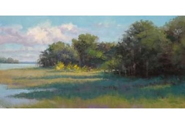 Countryside Afternoon Poster Print by Jill Schultz-McGannon (10 x 20)