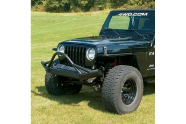 Big Daddy Off Road Pre-Runner Front Bumper with D-ring Mounts FB400PRSS Front Bumpers