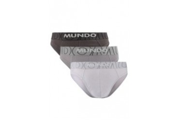 Mundo 3 Pcs Pack Mini Brief