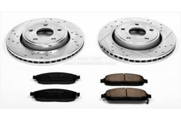 Power Stop Front Brake Kit K2219 Replacement Brake Pad and Rotor Kit