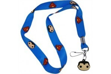 DC Comics Superman Pop Heroes Charm Lanyard