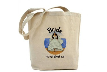 It's All About Me Bride Funny Tote Bag by CafePress