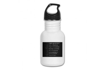 American Extremist Conservative Kid's Water Bottle by CafePress
