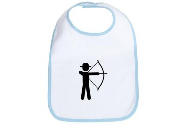 Archery Sports Bib by CafePress