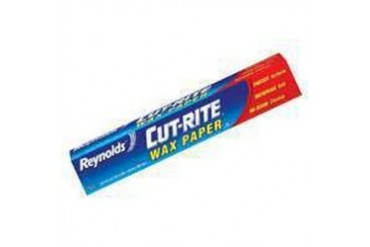 24 Pack Reynolds Consumer Products 00330 Cut-Rite Wax Paper 75Sf