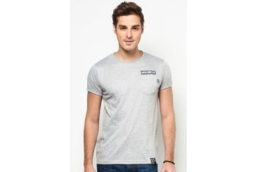 NEVER GROW OLD Plain Pocket Tee