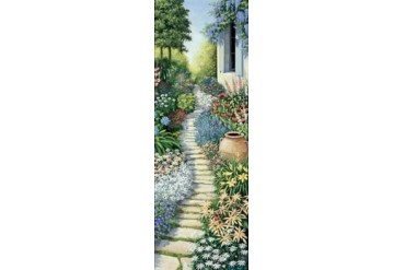 Flowers in fulfilment Poster Print by Peter Motz (10 x 20)