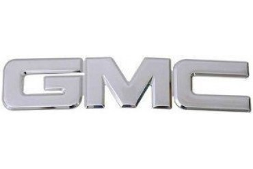 2000-2014 GMC Yukon Emblem All Sales GMC Emblem 96500C 00 01 02 03 04 05 06 07 08 09 10 11 12 13 14