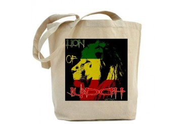 rastafari bag: LION OF JUDAH Music Tote Bag by CafePress