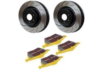 EBC Brakes Stage 5 Superstreet Front Brake Kit S5KF1145 Replacement Brake Pad and Rotor Kit