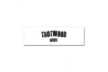 Trotwood Rocks Ohio Car Magnet 10 x 3 by CafePress