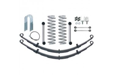 Rubicon Express 3.5 Inch Super-Ride Short Arm Lift Kit with Rear Leaf Springs - No Shocks RE6025 Complete Suspension Systems and Lift Kits