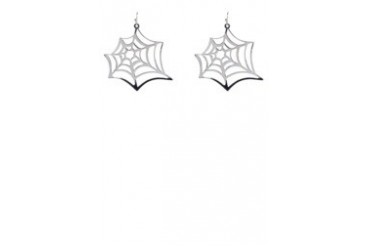 Fox's Accessories Spider Web Earrings