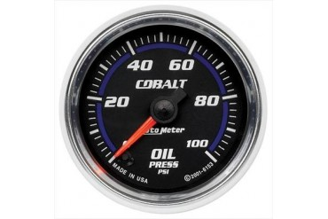 Auto Meter Cobalt Electric Oil Pressure Gauge 6153 Gauges