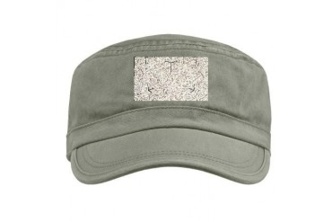 3d Cube Cool Military Cap by CafePress