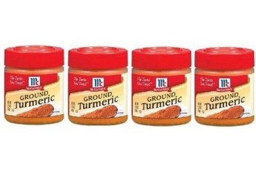 McCormick Ground Turmeric 4 Bottle Pack