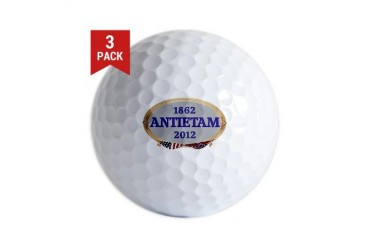Antietam - 150 Years Civil war Golf Balls by CafePress
