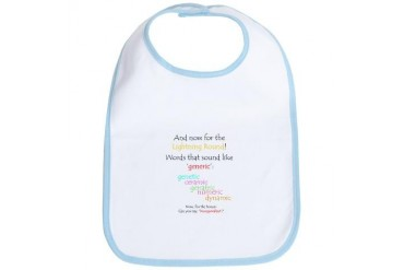 Can you say 'generic'? Funny Bib by CafePress