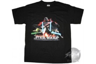 Star Wars Light Sabers Youth T-Shirt