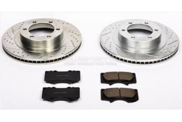Power Stop Performance Brake Upgrade Kit K2421 Replacement Brake Pad and Rotor Kit