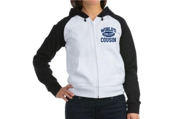 Coolest Cousin Cousin Women's Raglan Hoodie by CafePress