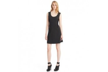 Harlowe Ponte Fit-and-Flare Dress