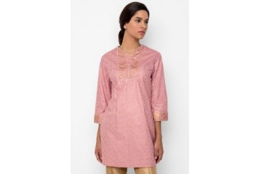 Accent Festive Collection Tunic Cotton Dusty