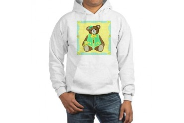 Baby Teddy Bear Baby Hooded Sweatshirt by CafePress