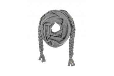 Wool Braided Long Scarf