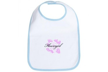 Fancy Formal Flower Girl Holidays / occasions Bib by CafePress