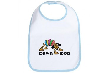Down Dog Dog Bib by CafePress