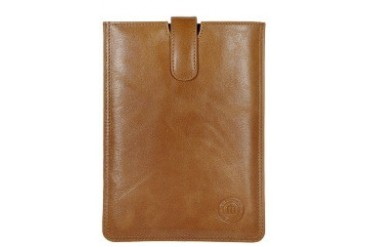 Leather slip cover for iPad mini - Golden tan Case