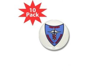 CPhT Badge Health Mini Button 10 pack by CafePress