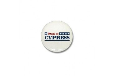 Made in Cypress California Mini Button by CafePress