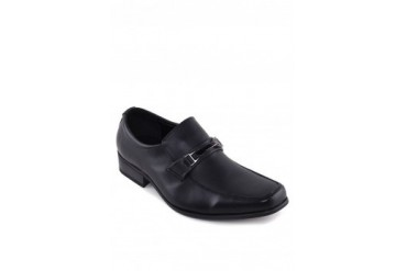 Knight PU Textured Leather Dress Shoes