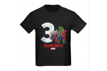 CafePress PERSONALIZED AVENGERS 3RD BIRTHDAY T-SHIRT