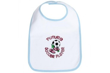 Future Soccer Player Girl Sports Bib by CafePress