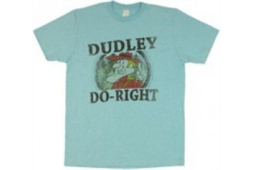 Rocky and Bullwinkle Dudley Do-Right T-Shirt Sheer