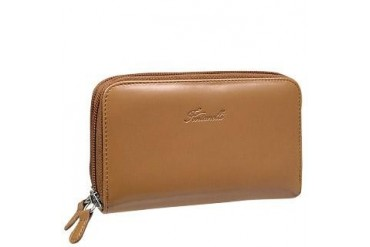 Tan Calf Leather Wallet