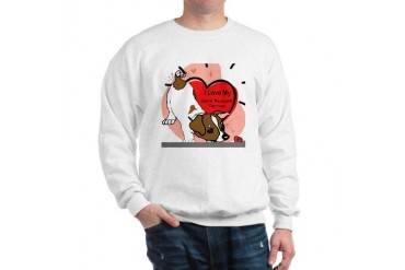 I Luv My Jack Russell Terrier Terrier Sweatshirt by CafePress