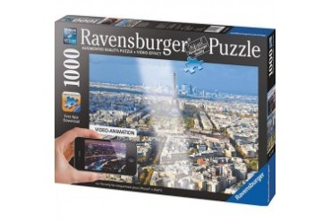 Paris Augmented Reality 1000 Piece Puzzle