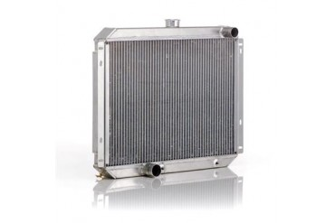 Be Cool Dual Core Radiator Module Assembly for 4,6 or 8 Cylinder Engines with  Automatic Transmission 82223 Radiator