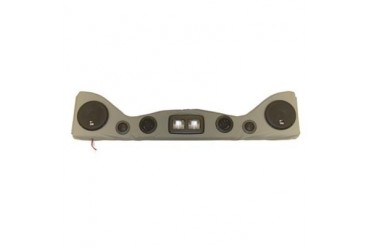 Vertically Driven Products 6 Speaker Overhead Sound Bar with Dome Lights  792511 Speaker Sound Bar