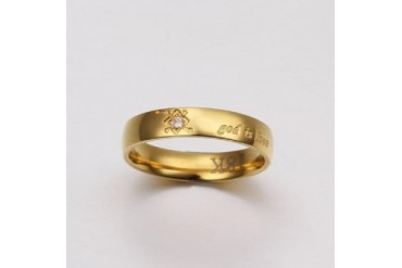Miracle Ring - Engraved God Is Love