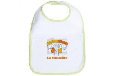 La Escuelita Spanish Bib by CafePress