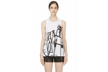 Rag And Bone White Noah Tank Top