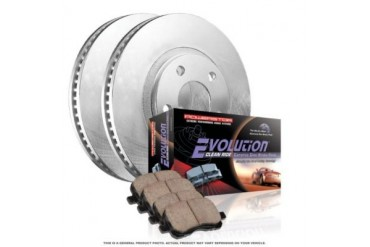 2001-2003 Toyota Tacoma Brake Disc and Pad Kit Powerstop Toyota Brake Disc and Pad Kit KOE1233 01 02 03