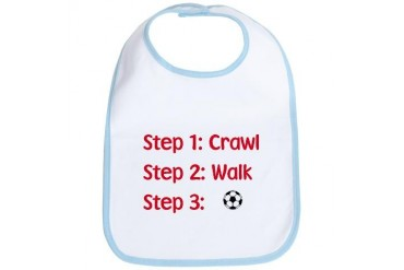 Step 3: Soccer Sports Bib by CafePress