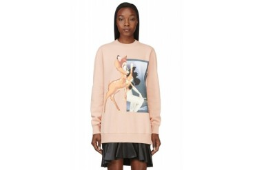 Givenchy Peach Bambi Graphic Sweatshirt